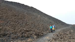 Randonnée / Trekking-Mount Etna-Hiking to the Summit of Montagnola (2,640m), Mount Etna-2