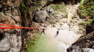 Canyoning-Bled-Extreme Canyoning in the Soča Valley, near Bled-7
