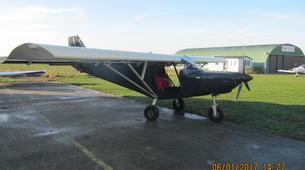 Microlight flying-Lille-Microlight initiation flight near Lille-3