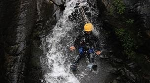 Canyoning-Spanish Catalan Pyrenees-Berros Gorge in the Spanish Pyrenees, near Llavorsi-1