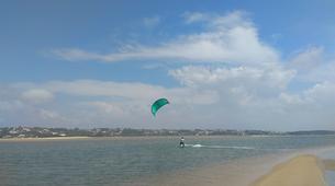 Kitesurfing-Peniche-Group Kitesurfing lessons in Obidos Lagoon near Peniche-1