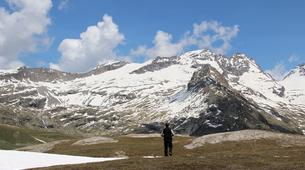 Randonnée / Trekking-Bonneval-sur-Arc, Haute Maurienne-Randonnée hors des sentiers dans les Cols de Haute Maurienne-4