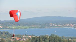 Paragliding-Tegernsee-Paragliding course at the Tegernsee in Southern Germany-5