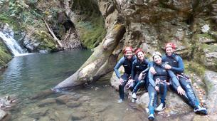 Canyoning-Arriondas-Canyoning at La Molina gorge in Picos de Europa National Park-1
