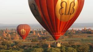 Hot Air Ballooning-Bagan-Vol en montgolfière au dessus du site archéologique de Bagan-2