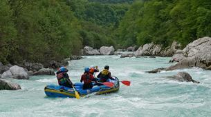 Rafting-Berchtelsgadener Land-Rafting on the Saalach river, Bavaria-3