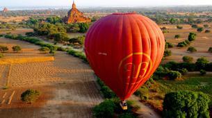 Hot Air Ballooning-Bagan-Vol en montgolfière au dessus du site archéologique de Bagan-1