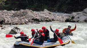 Rafting-Berchtelsgadener Land-Rafting on the Saalach river, Bavaria-1