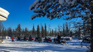 Snowmobiling-Kiruna-Snowmobile Afternoon Excursion-4