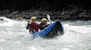 Rafting-Lac de Serre-Ponçon-Descente de la Durance en Cano-raft à Embrun-2