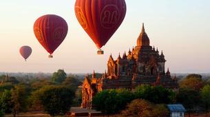 Hot Air Ballooning-Bagan-Vol en montgolfière au dessus du site archéologique de Bagan-4
