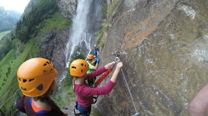 Via Ferrata-Villach-Via Ferrata to Fallbach Waterfall, near Fischertratten-4