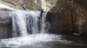 Canyoning-Gorges du Tarn-Canyoning dans les gorges du Banquet à Mamazet, Tarn-9