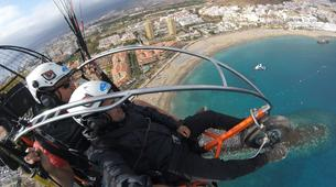 Paramotoring-Costa Adeje, Tenerife-Paramotoring in Tenerife with a World Champion-1