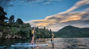 Stand Up Paddle-Rotorua-Glow worm SUP Tour on Rotorua Lake-2