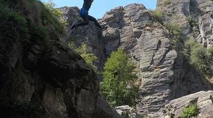 Canyoning-Gorges du Tarn-Canyoning dans les gorges du Banquet à Mamazet, Tarn-7