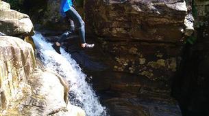 Canyoning-Gorges du Tarn-Canyoning dans les gorges du Banquet à Mamazet, Tarn-8