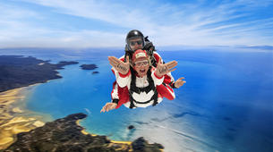 Skydiving-Abel Tasman National Park-9,000 ft Tandem Skydive over Abel Tasman-1