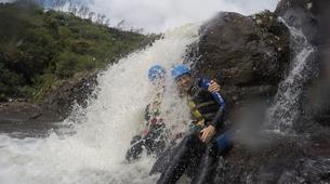 Canyoning-Chutes de Tamarin - Gorges de Rivière Noire-Initiation Canyoning aux 7 Cascades de Tamarin, Maurice-4