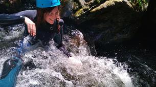 Canyoning-Gorges du Tarn-Canyoning dans les gorges du Banquet à Mamazet, Tarn-11