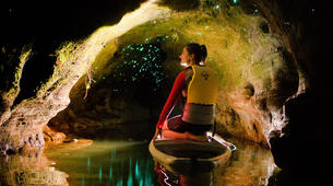 Stand Up Paddle-Rotorua-Glow worm SUP Tour on Rotorua Lake-1