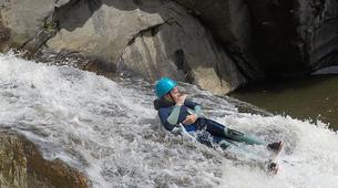 Canyoning-Gorges du Tarn-Canyoning dans les gorges du Banquet à Mamazet, Tarn-1