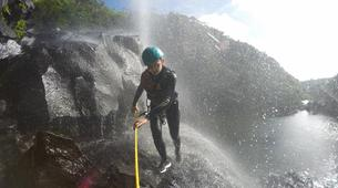 Canyoning-Chutes de Tamarin - Gorges de Rivière Noire-Initiation Canyoning aux 7 Cascades de Tamarin, Maurice-1