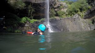 Canyoning-Chutes de Tamarin - Gorges de Rivière Noire-Initiation Canyoning aux 7 Cascades de Tamarin, Maurice-5