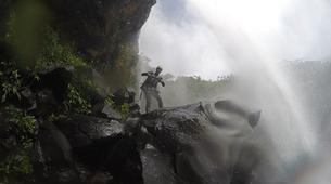 Canyoning-Chutes de Tamarin - Gorges de Rivière Noire-Initiation Canyoning aux 7 Cascades de Tamarin, Maurice-6
