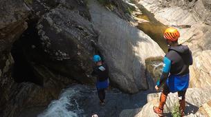 Canyoning-Gorges du Tarn-Canyoning dans les gorges du Banquet à Mamazet, Tarn-5