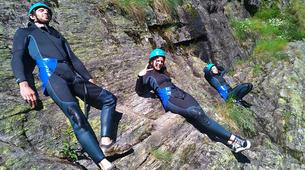 Canyoning-Gorges du Tarn-Canyoning dans les gorges du Banquet à Mamazet, Tarn-3