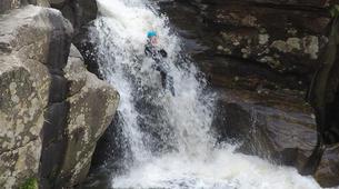 Canyoning-Gorges du Tarn-Canyoning dans les gorges du Banquet à Mamazet, Tarn-4