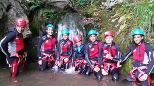 Canyoning-Oviedo-Cuasacas canyon in Proaza near Oviedo-5