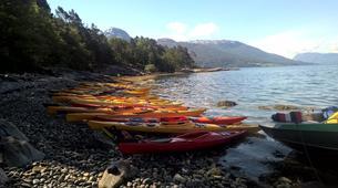Kayak de mer-Jondal-Fjord sea kayaking in Jondal-3
