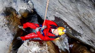 Canyoning-Cirque de Cilaos-Bras Rouge canyon in Cirque of Cilaos, Reunion-1