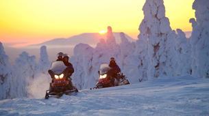 Snowmobiling-Rovaniemi-Northern Lights Snowmobile Safari in Rovaniemi-2