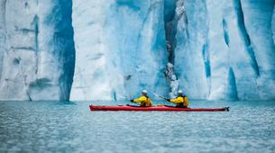 Randonnée glaciaire-Rosendal-Kayaking and glacier hike on the Møsevass Glacier-6