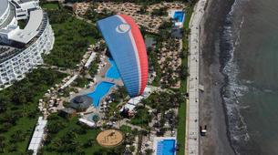 Parapente-Costa Adeje, Tenerife-High performance tandem paragliding flight over Adeje-1