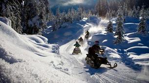 Snowmobiling-Rovaniemi-Snowmobile Safari in Rovaniemi-1
