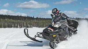 Snowmobiling-Rovaniemi-Snowmobile Safari in Rovaniemi-5
