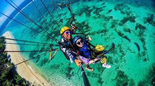 Parapente-Kuta Selatan-Tandem Paragliding flight in Benoa, Bali-4