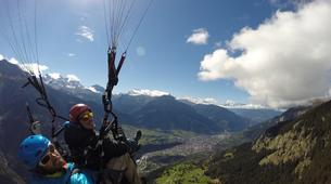 Paragliding-Brig-Glis-Summer Tandem Paragliding in Brig-Glis-4