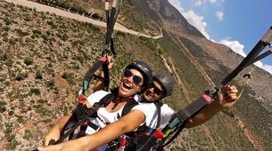 Paragliding-Arachova-Tandem paragliding flight in Arachova, Greece-4
