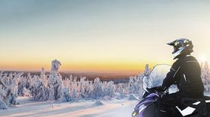 Snowmobiling-Rovaniemi-Snowmobile Session in Lapland-6