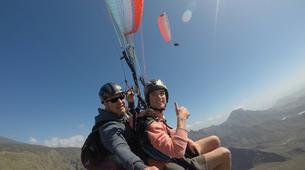 Paragliding-Costa Adeje, Tenerife-Standard paragliding tandem flight over Adeje-4