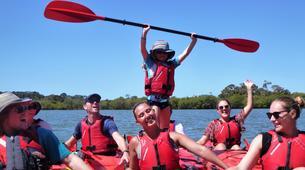 Sea Kayaking-Paihia-Kayaking and Walking Tour of Haruru Falls, Bay of Islands-2
