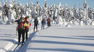 Skilanglauf-Rovaniemi-Cross-Country Skiing in Lapland-5