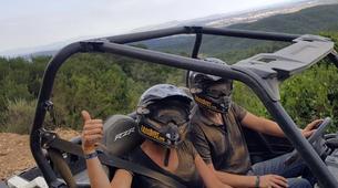 Quad biking-l'Estartit-Buggy Tour in the Gavarres Mountains near Girona-10