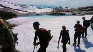 Randonnée glaciaire-Jondal-Blue ice hike on the Juklavass Glacier-5