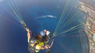 Parapente-Costa Adeje, Tenerife-High performance tandem paragliding flight over Adeje-2